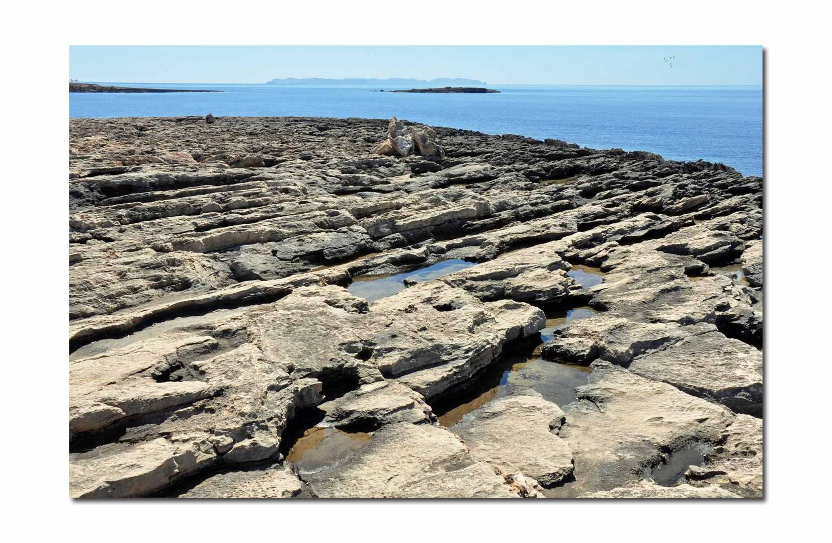 Steinformation alter Lavaflüsse