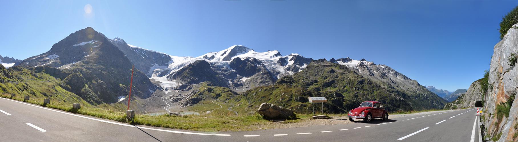 Steingletscher am Susten