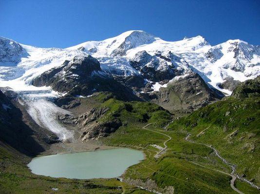 Steingletscher Schweiz
