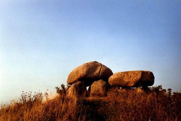 Steingrab auf Møn