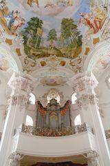 Steinhausen Wallfahrtskirche Orgel