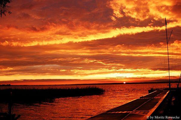 Steinhuder Meer in Flammen