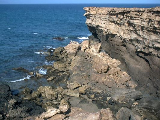 Steinige Westküste