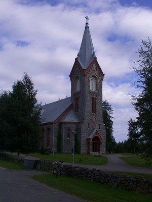 Steinkirche von Kitee