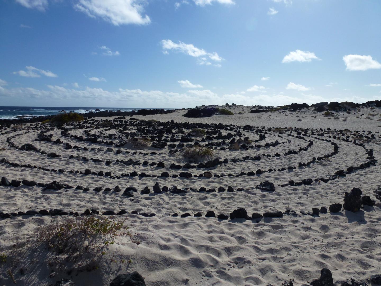 Steinkreis auf Lanzarote