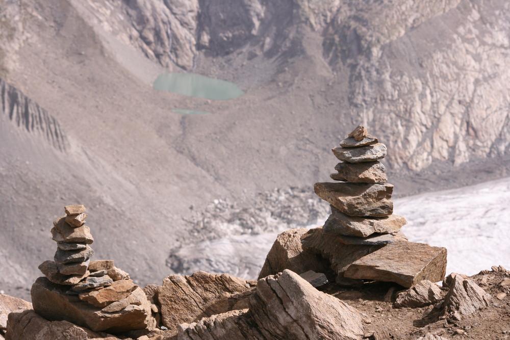 Steinmännchen auf dem Gornergrat