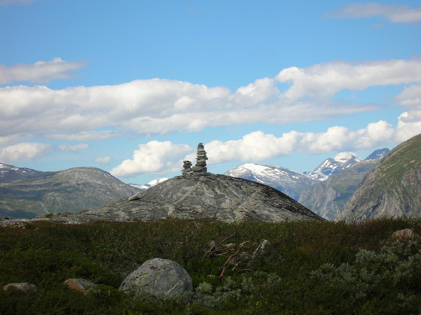 Steinmännchen im Nationalpark