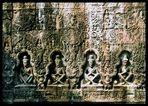 Steinrelief der Khmer