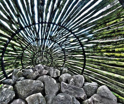 Steinreuse Naturkunstwerk