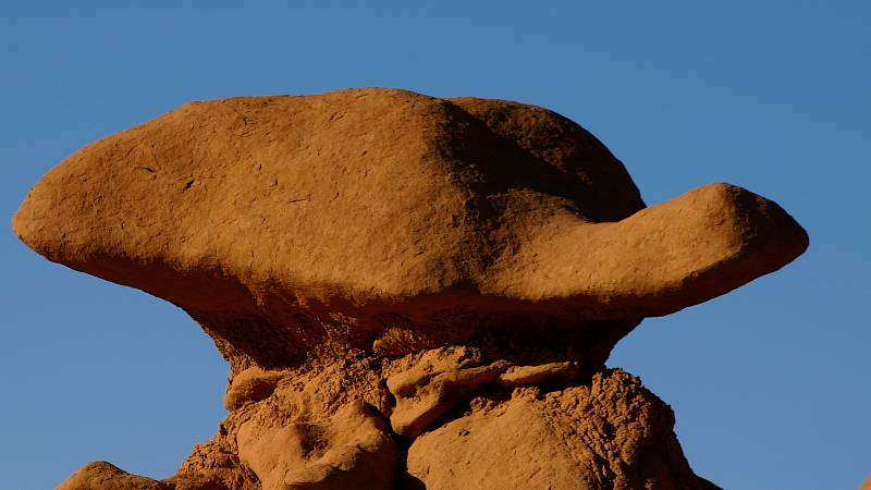 Steinschildkröte in Goblin Valley