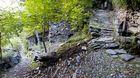 Steintreppen nach Savogno
