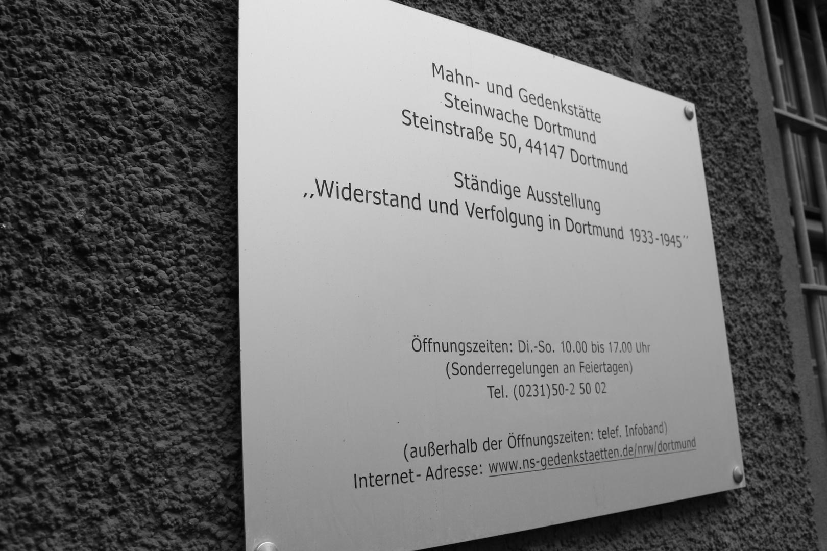 Steinwache Dortmund