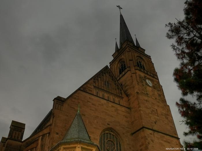 St.Elisabeth Kirche in Krefeld / HDR