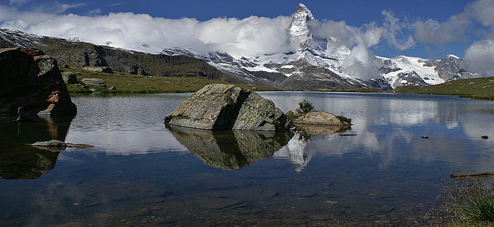 Stellisee (Rothorn Paradise, Zermatt, CH)