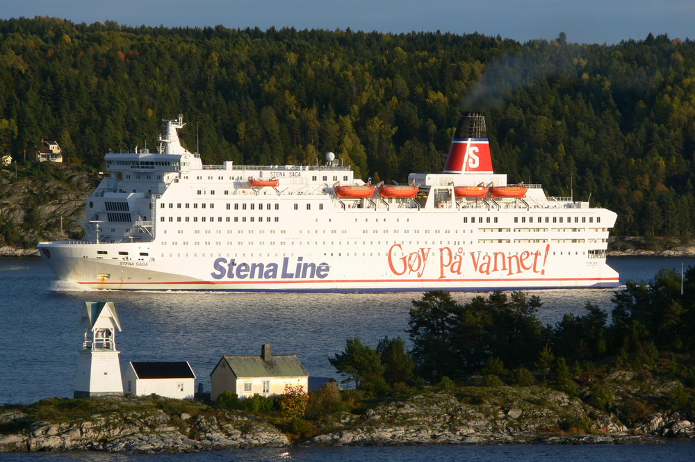 STENA SAGA im Oslofjord