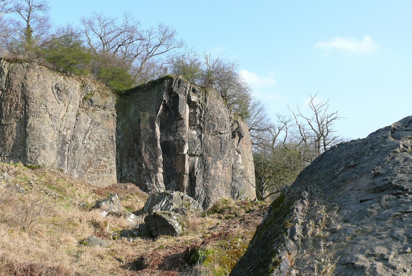 Stenzelberg im Siebengebirge