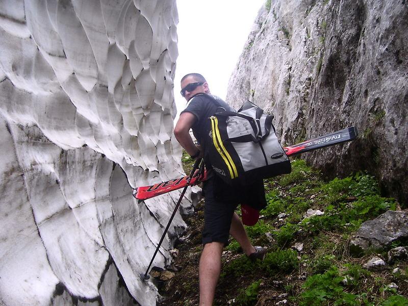 step toward to glacier - Zabljak