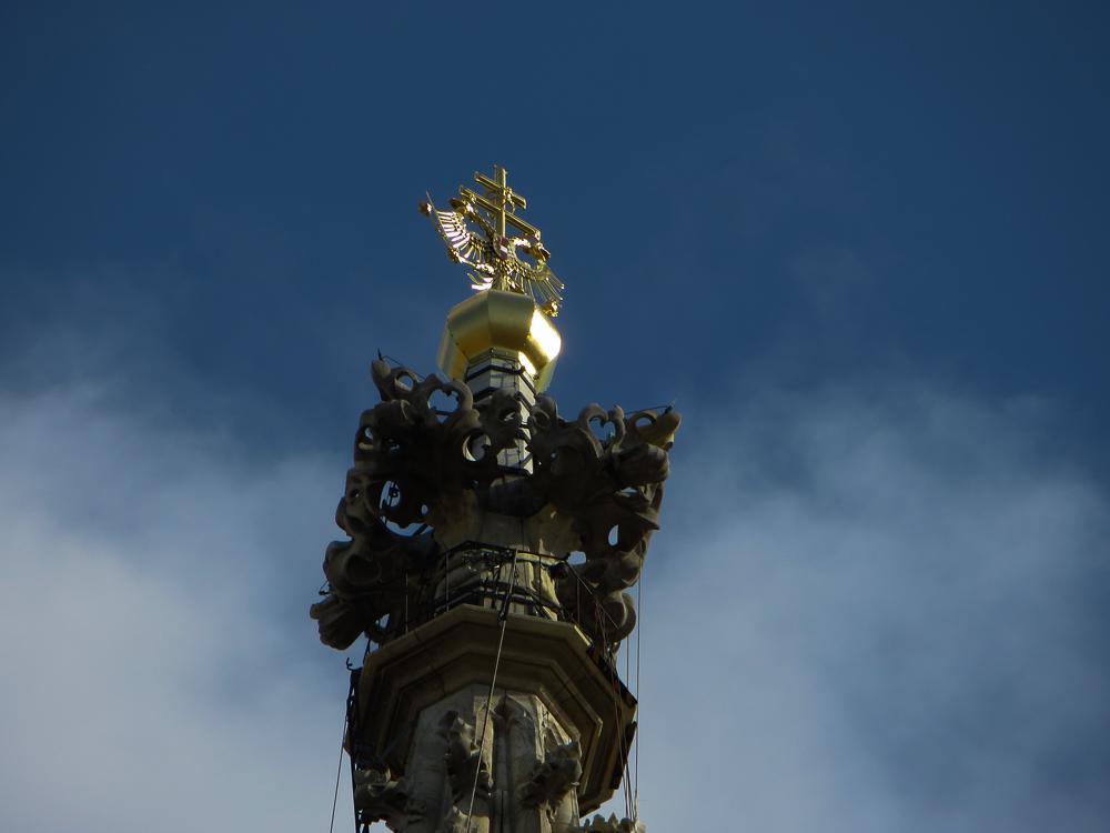 Stephansdom ganz oben