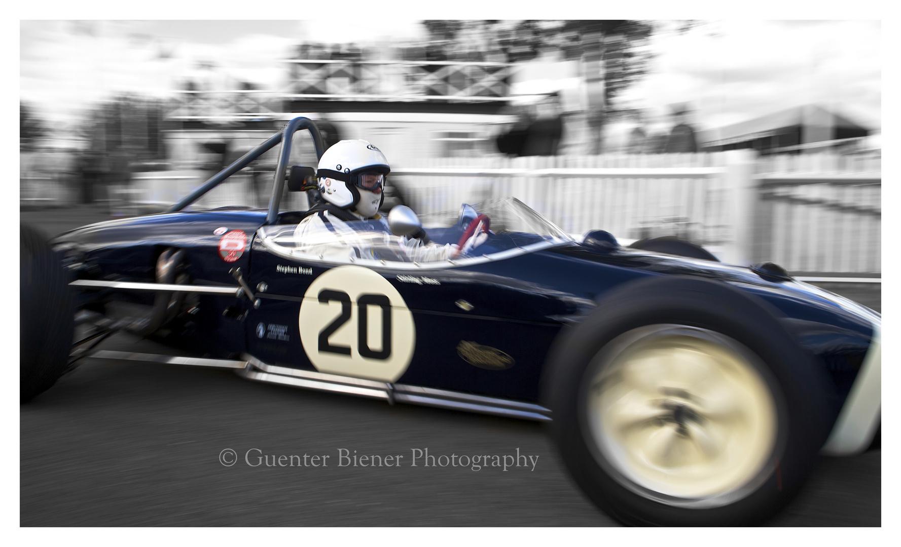 Stephen Bond, Lotus 18 Climax .......