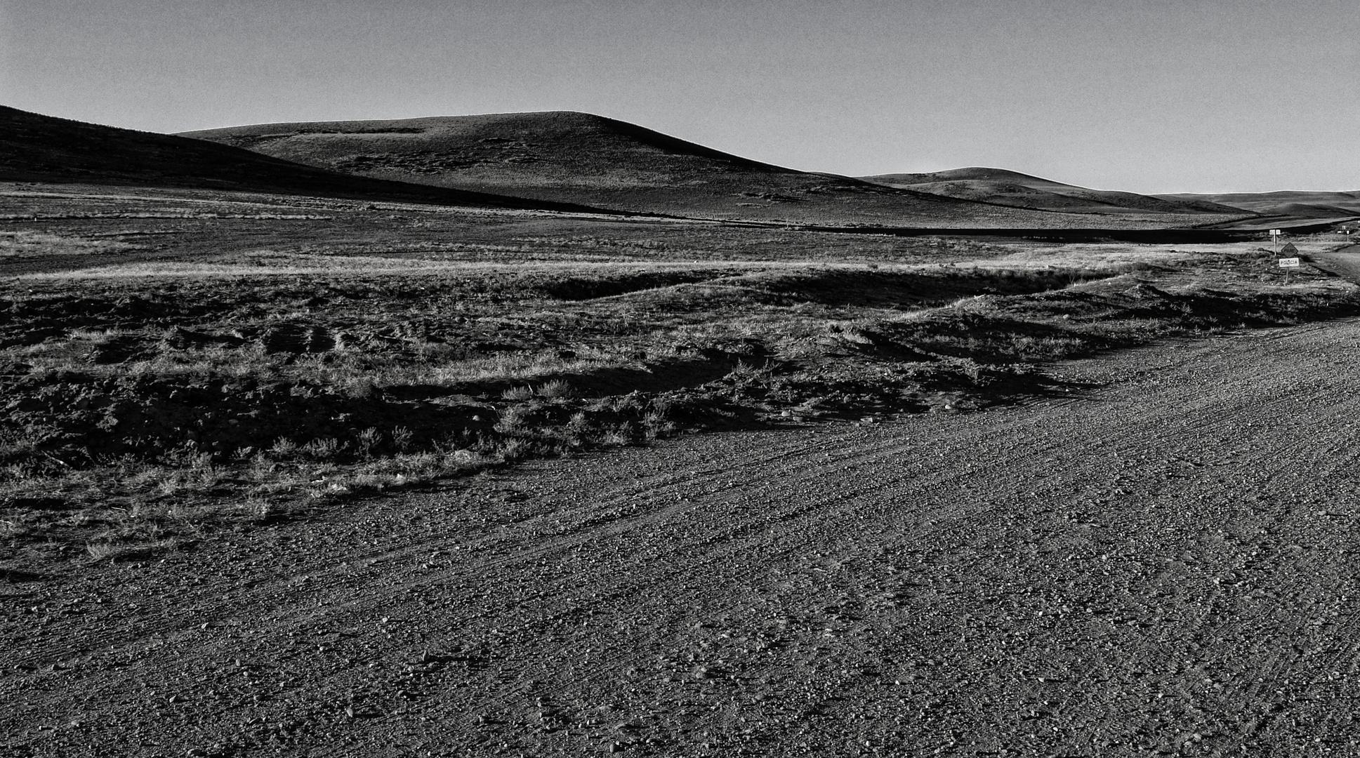 steppenlandschaft ...