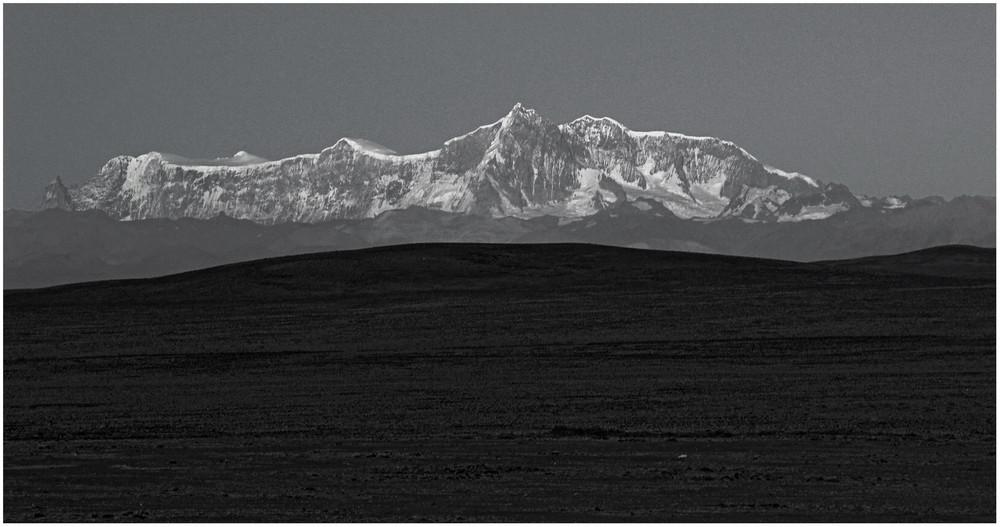 Steppenlandschaft in Argentinien ...