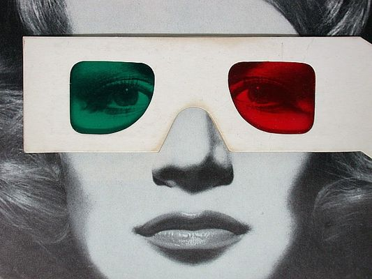 Stereo-Brille