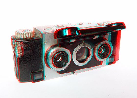 Stereo Realist als Anaglyphe