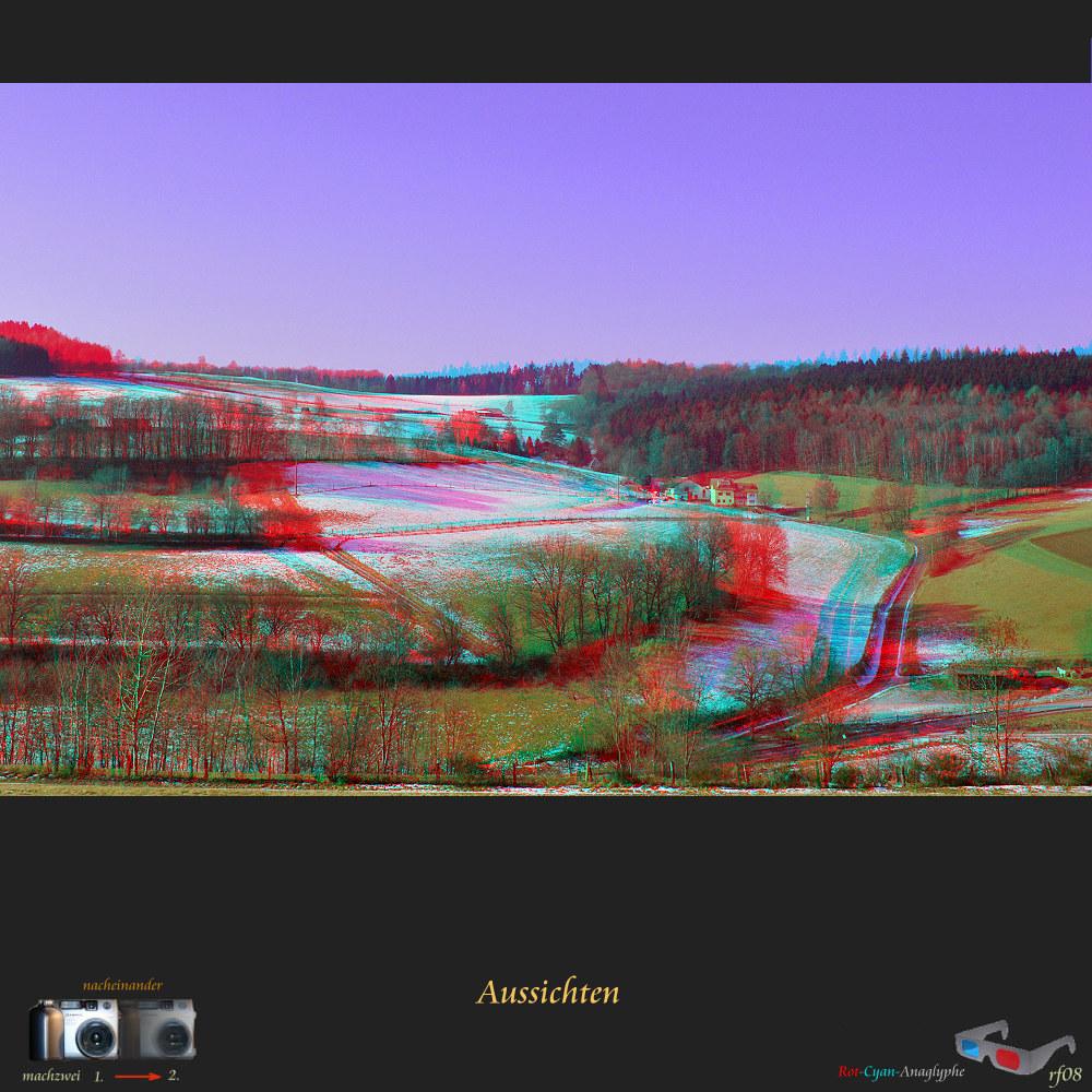Stereos in Voll-HD: Anaglyphe 1920x1200 aus dem Mittelwinter (+Originale)