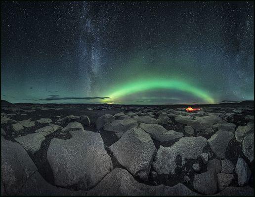 Sternchenzelter im Eiseland