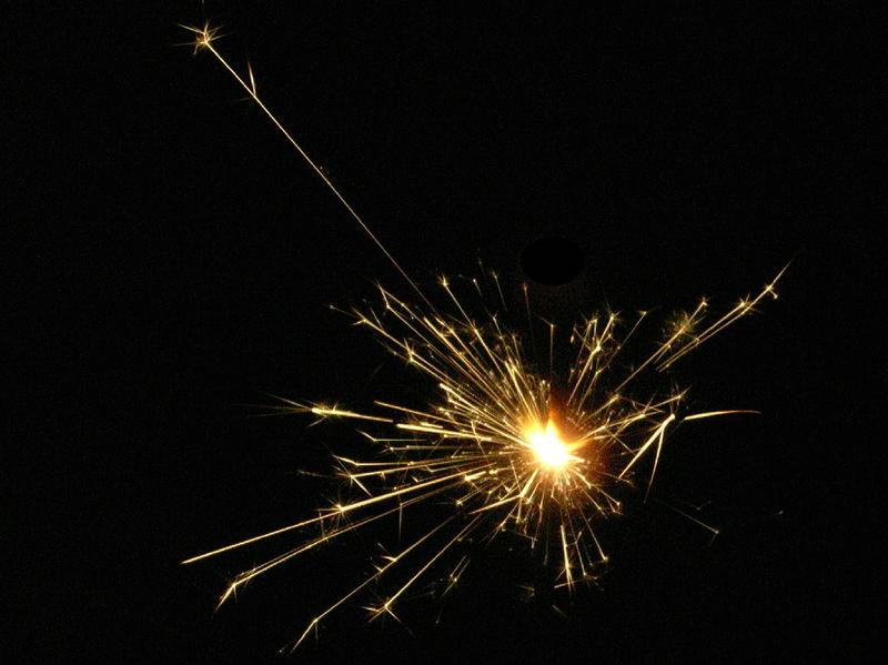 Sterndlwerfer (oder auch Wunderkerze)