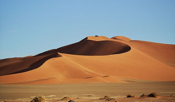 Sterndüne am Sossusvlei - Namibia