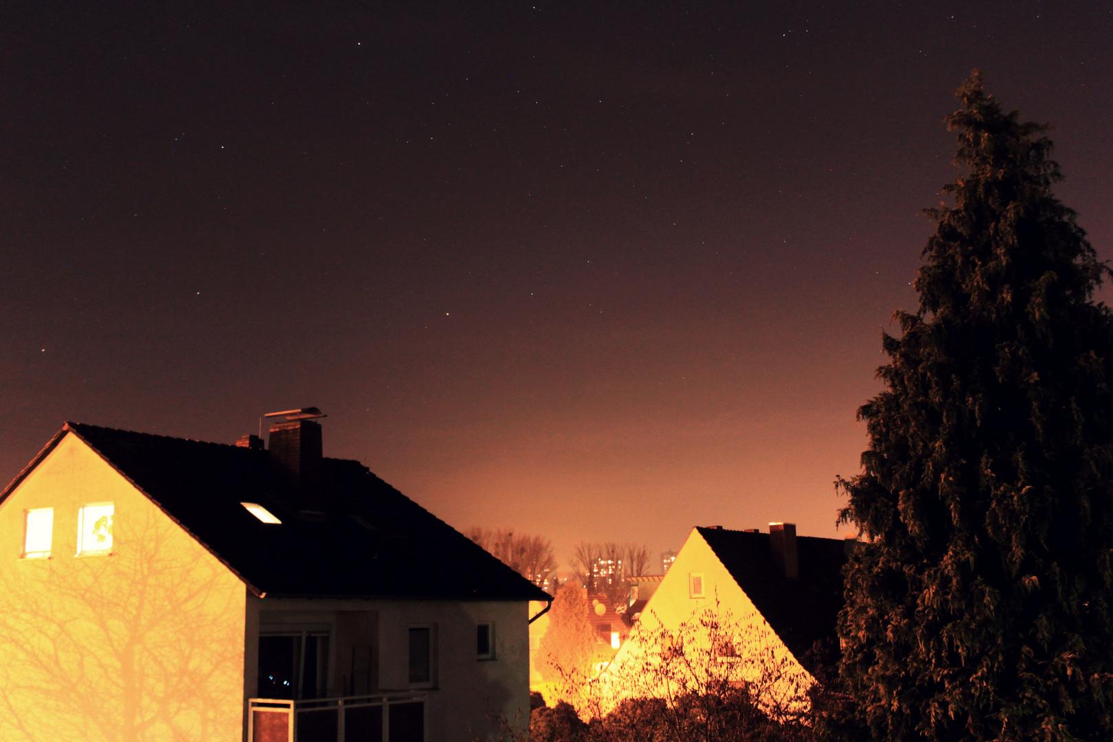 Sterne am Abendhimmel 2