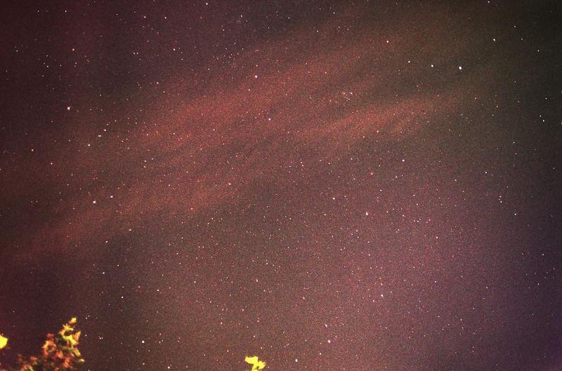 Sterne (mit analoger Kamera)