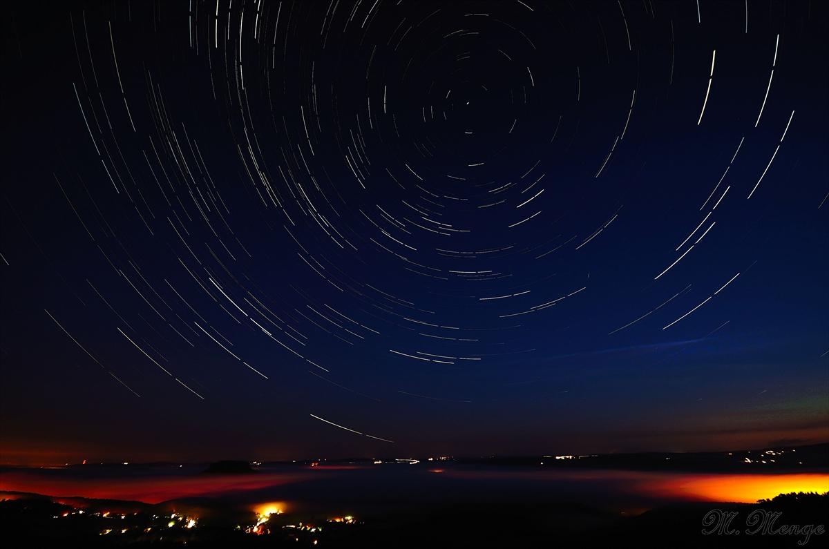 Sterne über der Sächsischen Schweiz