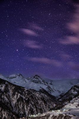 Sterne über der Surselva