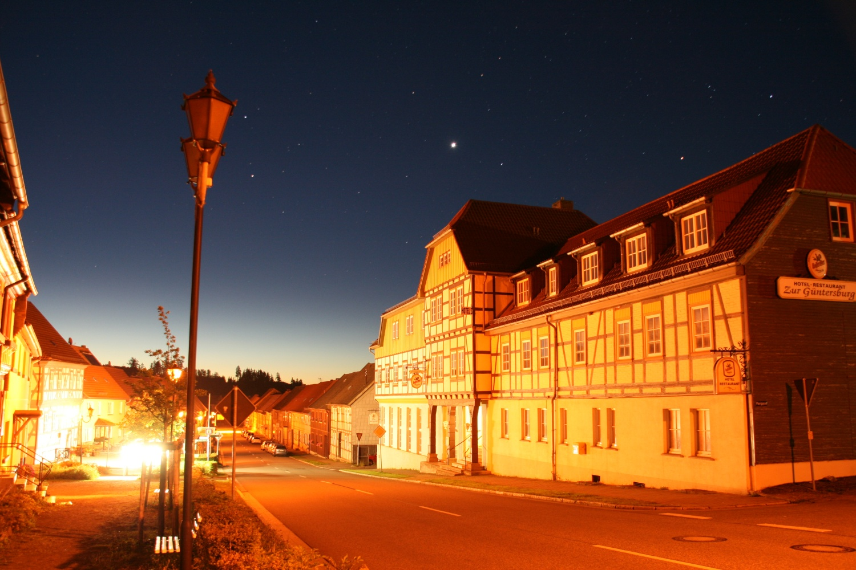 Sterne über Güntersberge