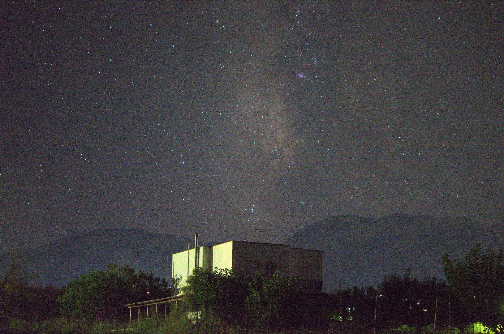 Sterne über Kavros