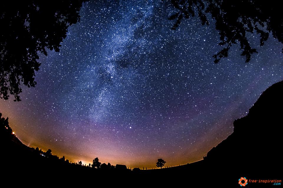 Sterne, wohin man auch schaut …