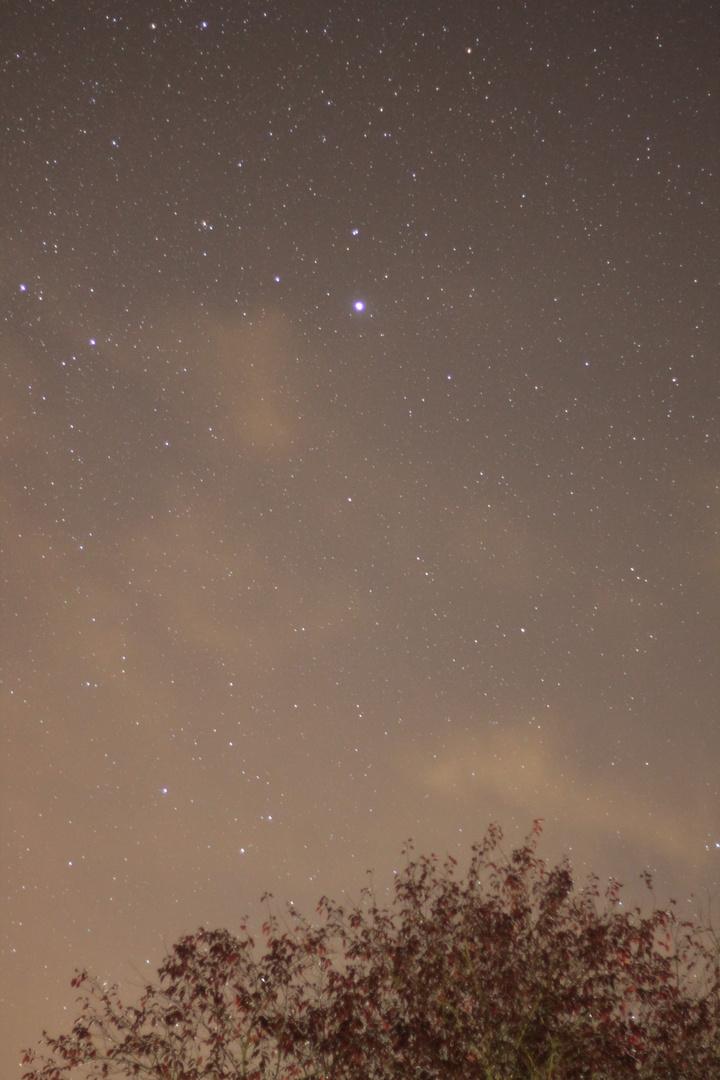 Sternenfoto am Nachthimmel