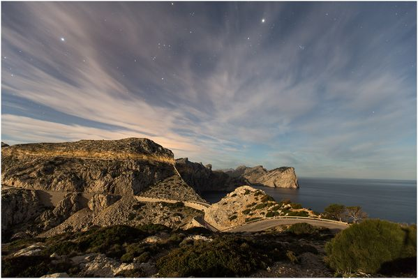 Sternenhimmel auf Formentor 1