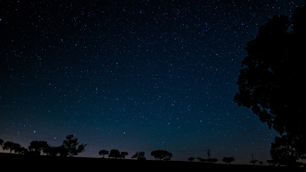 Sternenhimmel im Alentejo
