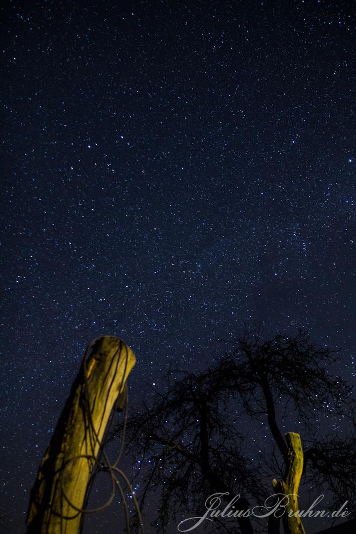 Sternenhimmel im Wendland