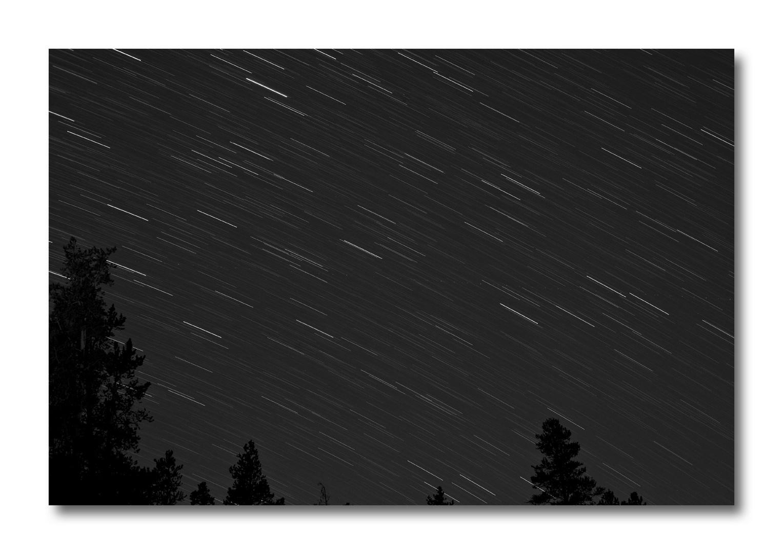 Sternenhimmel in den Rocky Mountains