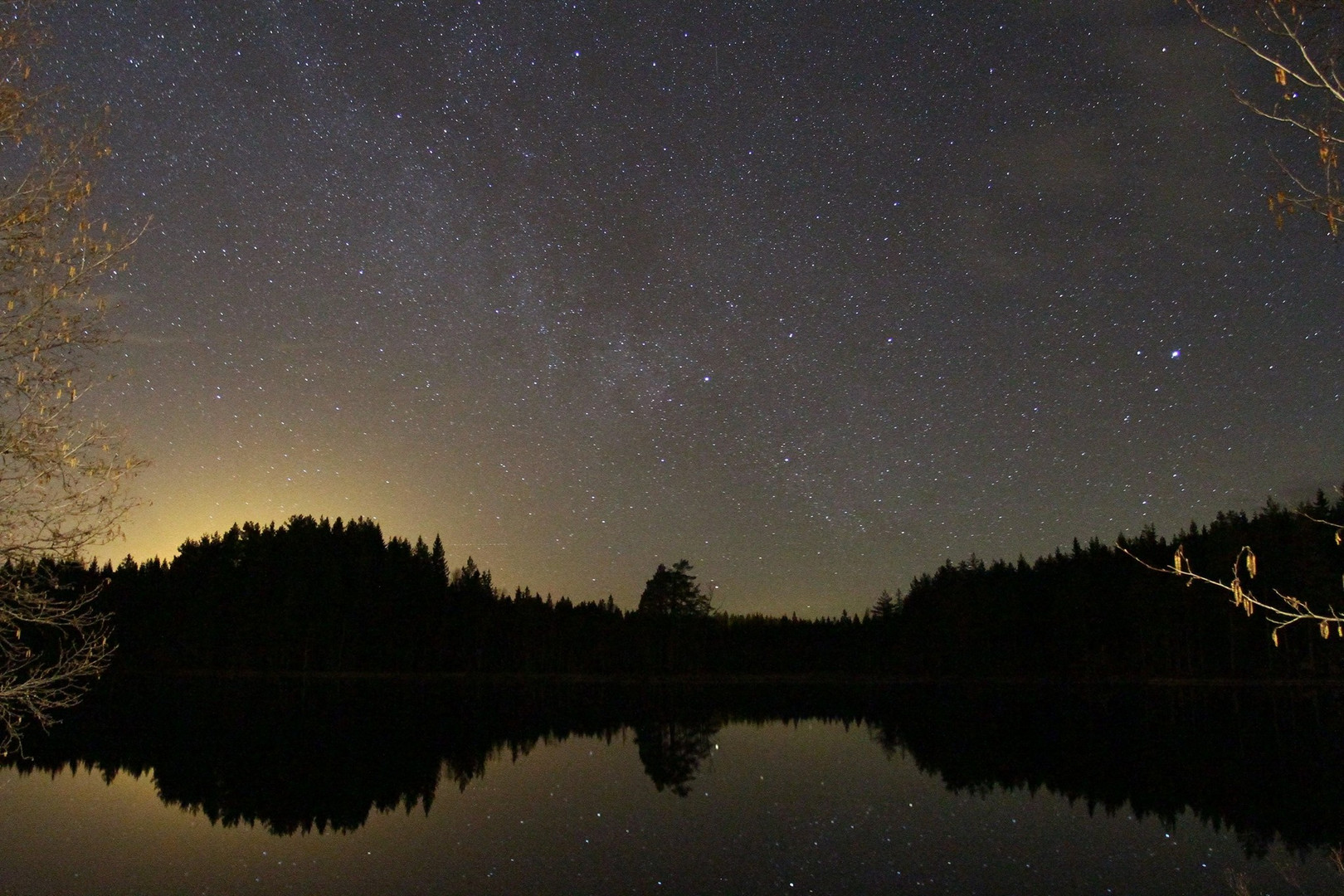 Sternenhimmel in Schwedens Norden