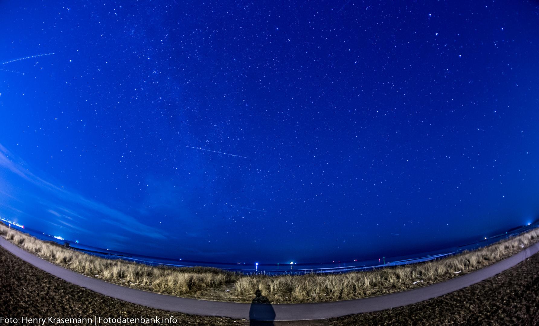 Sternenhimmel über der Kieler Förde