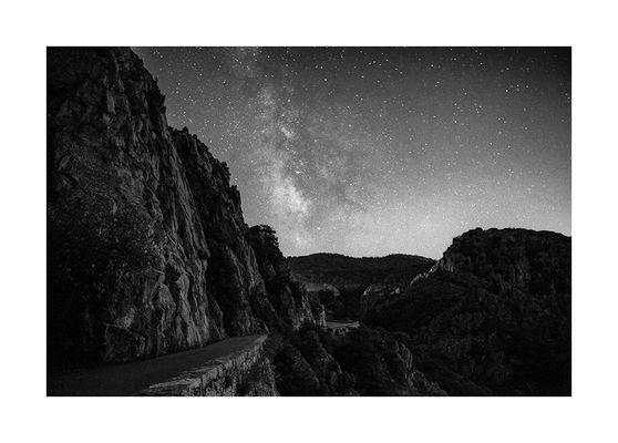 Sternenhimmel über Korsika