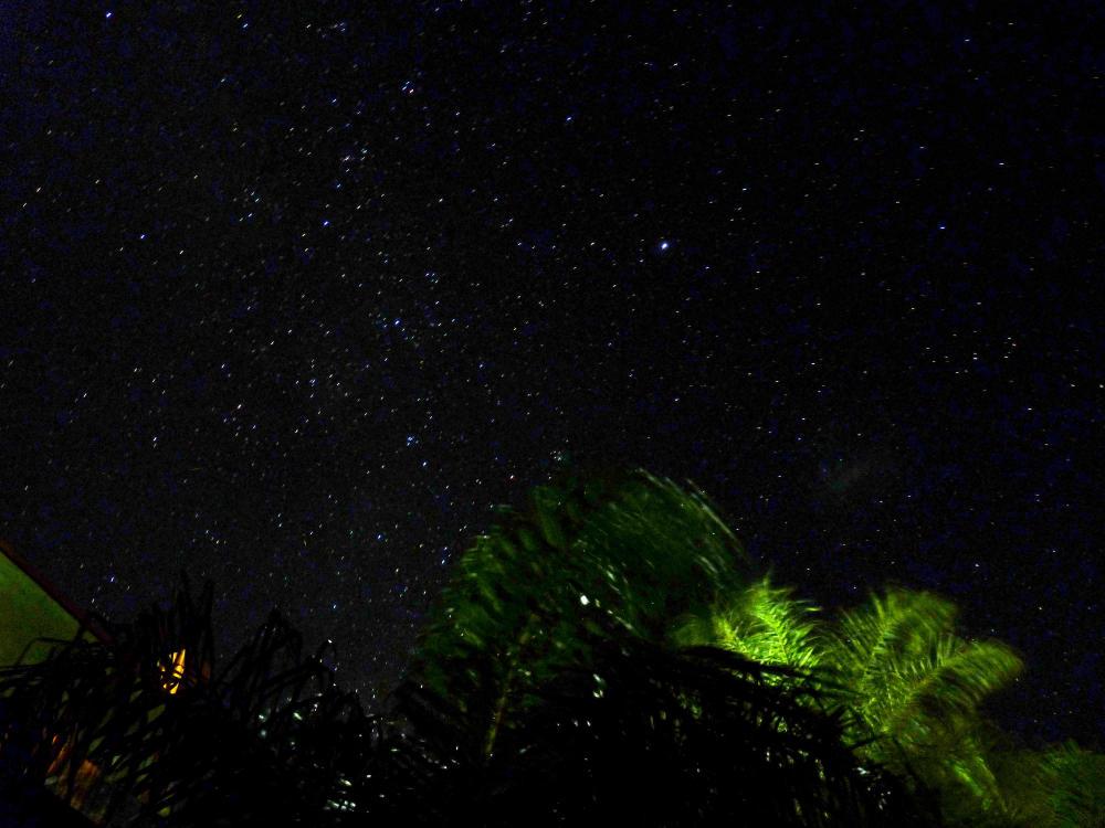 Sternenhimmel über Paraguay