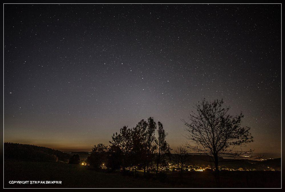 Sternenhimmel über Weidenhausen