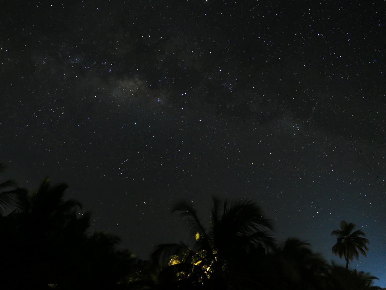 Sternenstunde auf den Malediven