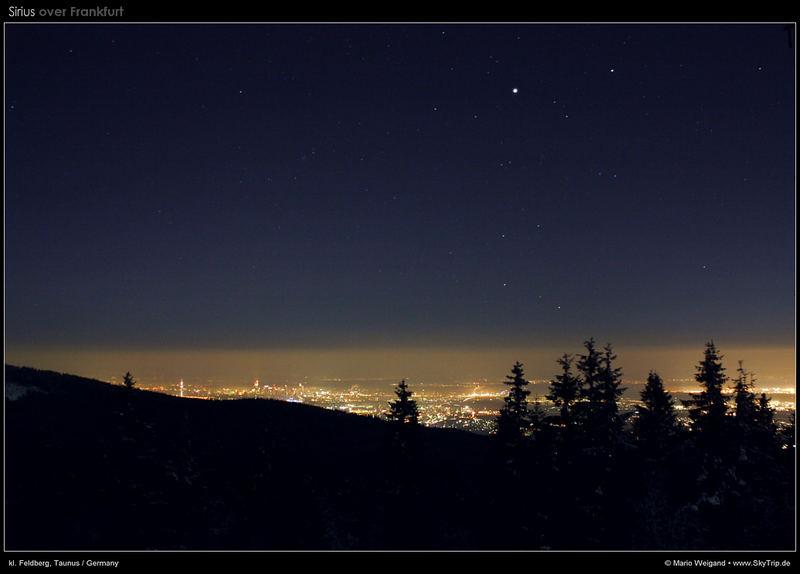 Sternhimmel über Frankfurt